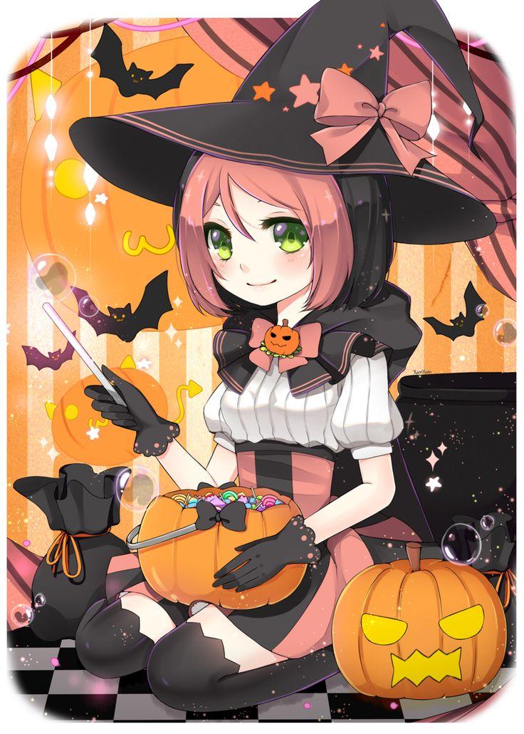 Pippi osu  mascot Halloween