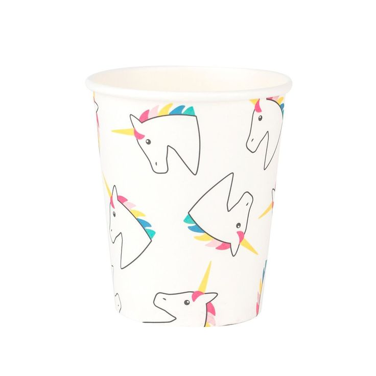 Unicorn Cups (8 Pack) – Lucky Lulu Party Shop
