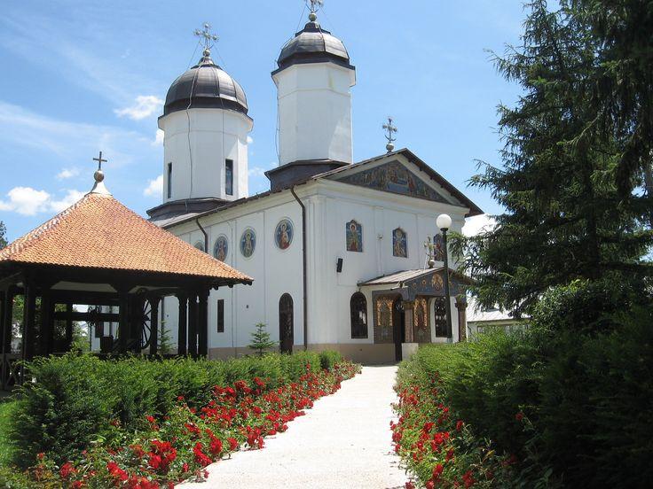 The Ţigăneşti monastery