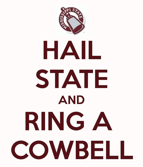 Hail State & Ring a cowbell!