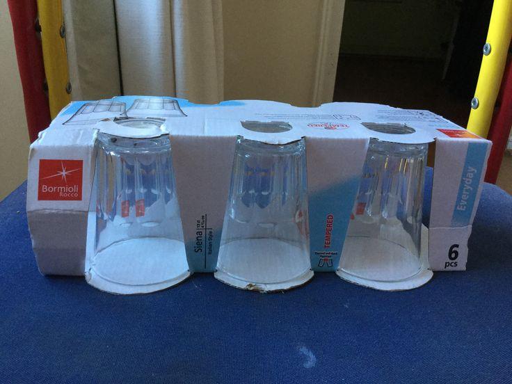 $800 - Set 6 vasos bormioli (6 set)