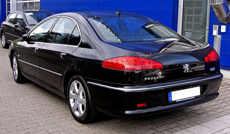 Rear Peugeot 607