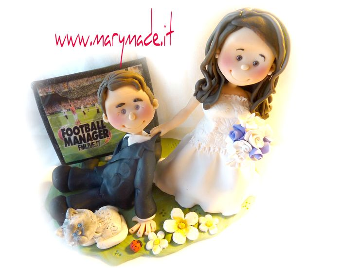 Visit www.marymade.it to book your very own #handmade #wedding #caketopper, make your wedding cake complete!