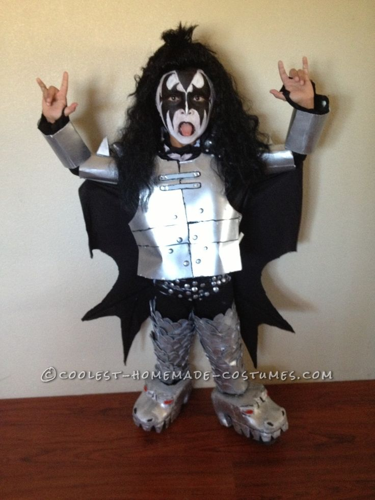 78 best images about gene simmons halloween costumes on for Awesome halloween costumes for kids