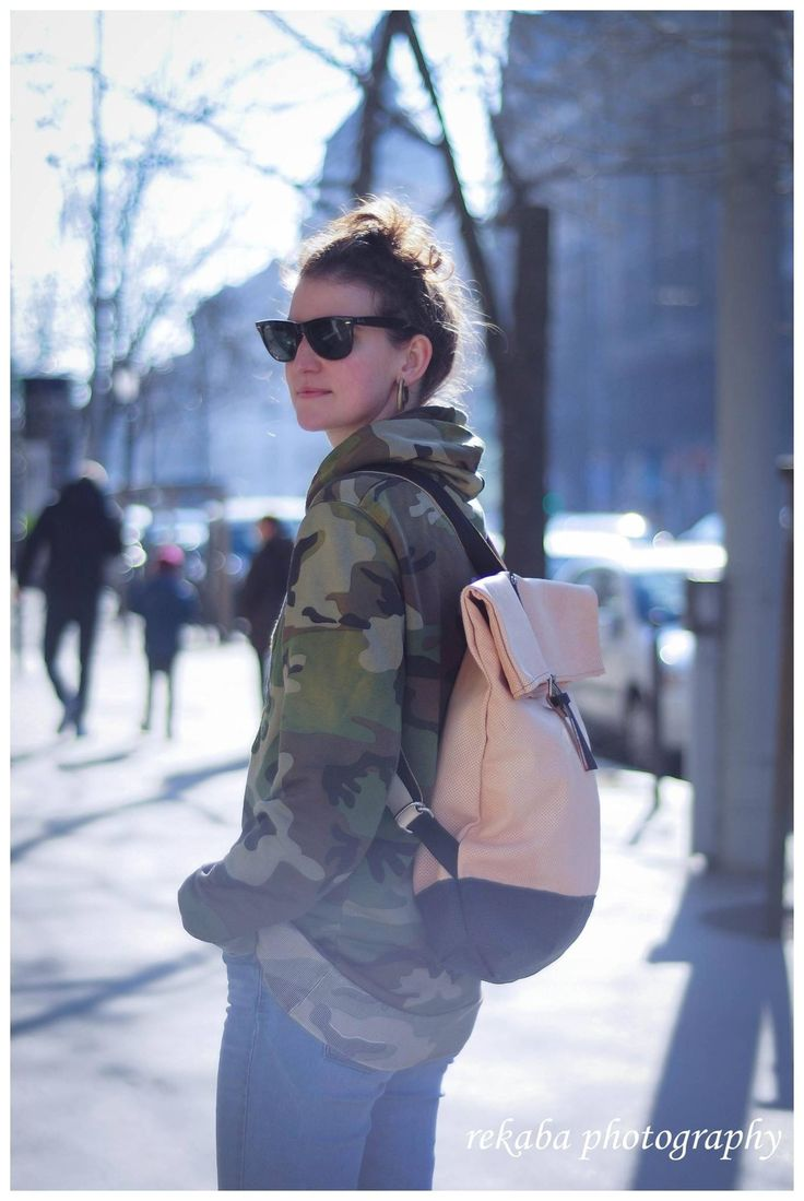 Perforated leather backpack from ihaybyannamihalyffy  #backpack #leatherbag #deliverybag