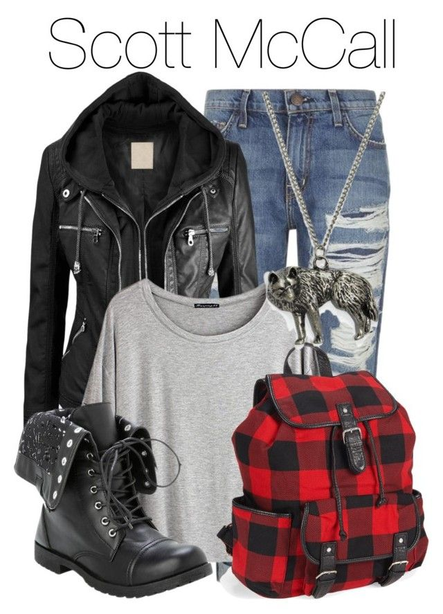 """Scott McCall - Teen Wolf"" by libbysfashion ❤ liked on Polyvore featuring Current/Elliott, Chicnova Fashion, Aéropostale, fail, TeenWolf, themed and ScottMcCall"