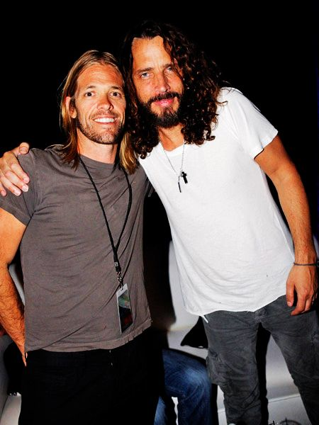 Taylor Hawkins & Chris Cornell