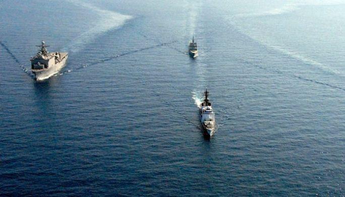 Medyascope ///  Güney Çin Denizi'nde tansiyon giderek yükseliyor: ABD ve Çin savaş gemileri karşı karşıya