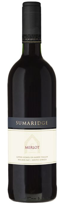 Sumaridge Estate Wines - Merlot | Pairing suggestion: Roast Chicken with Sage and Onion stuffing | Visit www.monnig.net for recipe