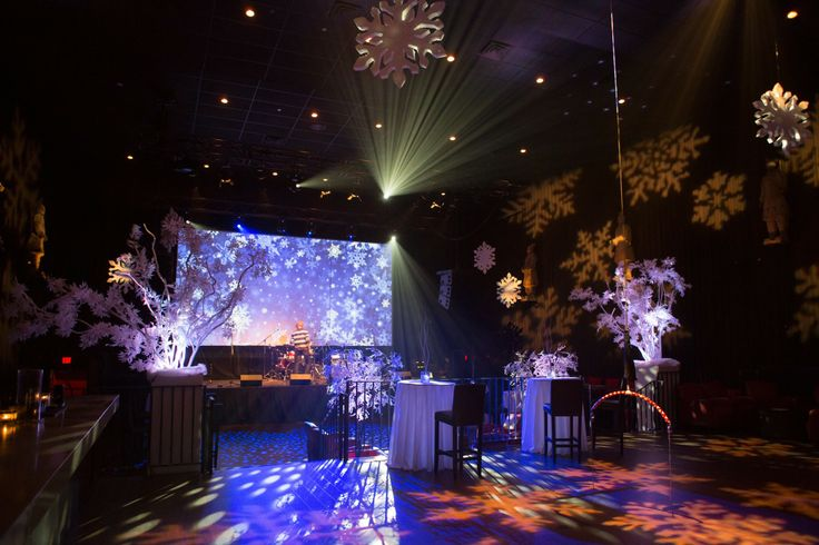 End of Year staff and partners event - 'A Black and White Winter Wonderland'