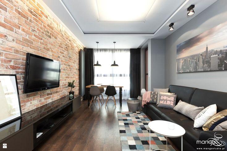 Salon styl Nowoczesny - zdjęcie od MANGO Studio Architektury Wnętrz i Ogrodów - Salon - Styl Nowoczesny - MANGO Studio Architektury Wnętrz i Ogrodów
