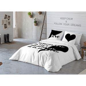Valentine's bedding.  #dekoria #kompletpościeli #bedding #valentinesbedding #love #couple #valentines2017 #gift #bedroom #walentynki #prezent