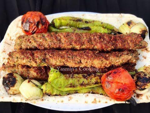 How To Make Turkish Adana Kebab / Turkish Kebab / Adana Kabab Eid Special (English Subtitles) - YouTube