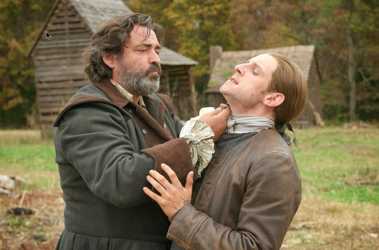 Angus Macfadyen and Jamie Bell in TURN - Washington's Spies (2014).jpg