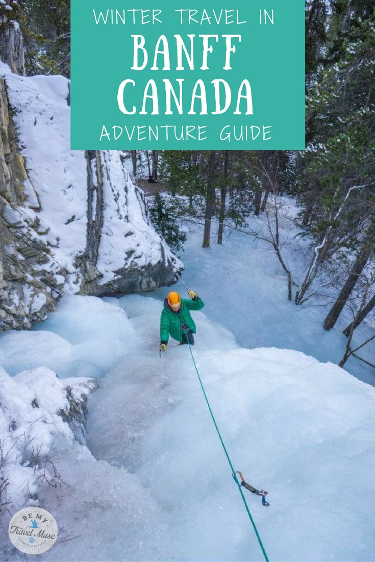 1314 best north america travel tips images on pinterest travel 8 adventurous things to do in banff in the winter sciox Images