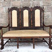 Винтаж ручной работы. Ярмарка Мастеров - ручная работа В наличии!!!Старинный диван в стиле ренессанс!!!. Handmade.