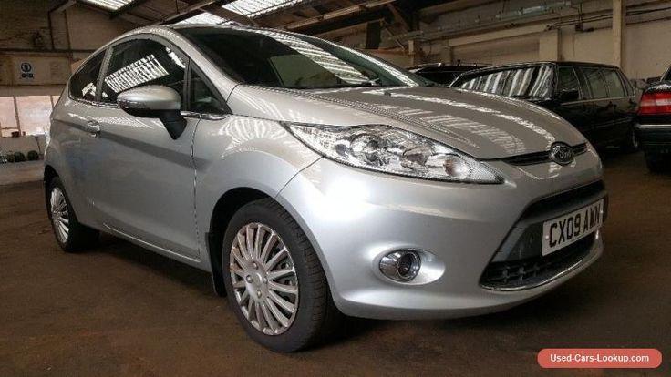 Ford Fiesta 1.4 titanium 2009 09 silver low mileage  #ford #fiesta #forsale #unitedkingdom