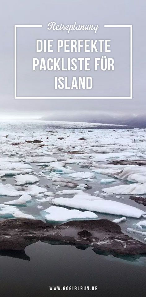 Packing List Iceland Travel: What can you not forget? Which one is the right one? – Reiseblogger Tipps