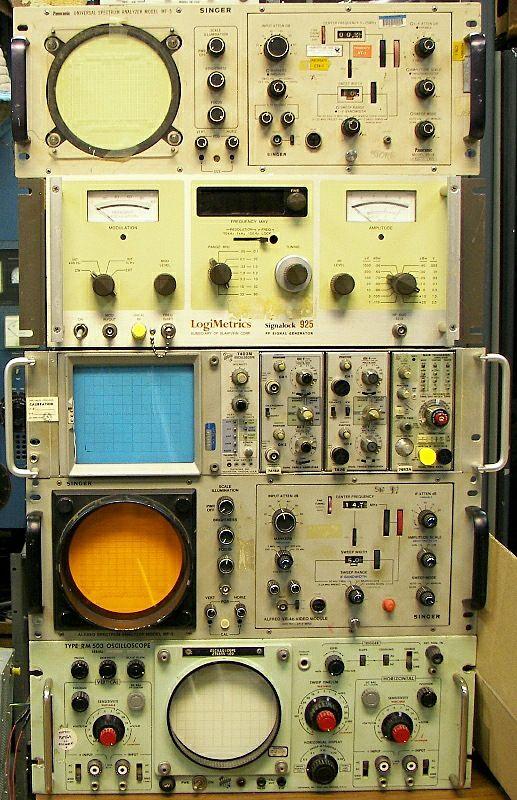Image result for singer alfred spectrum analyzer