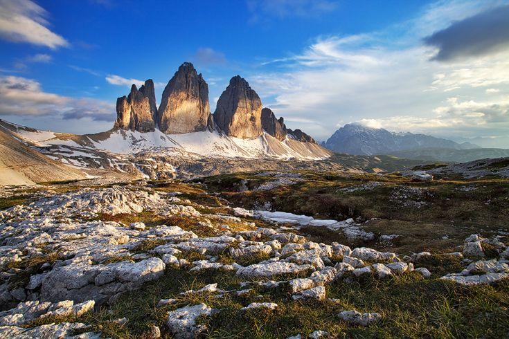 Miluji pohled na ně...Alpské Dolomity
