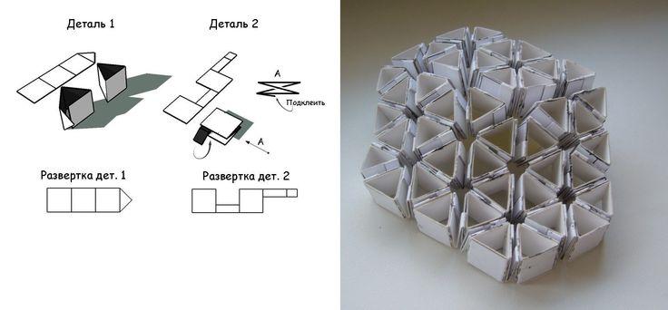 Реверсивная ячеистая структура