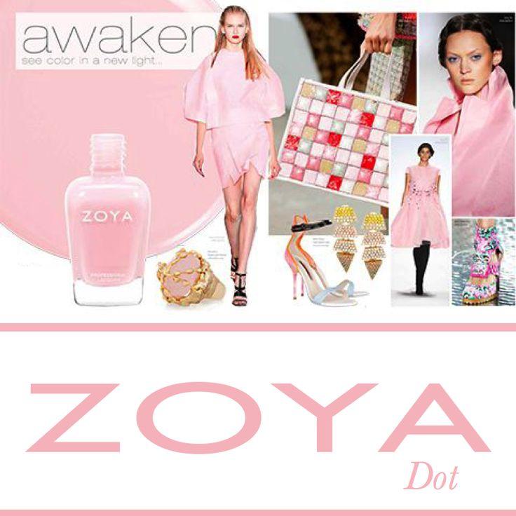 Zoya Awaken Dot  #zoyaoje #tırnak #nail #fashion #nailcolors #nailart #moda #shoes #bags #dress #zoyaturkiye #jewerly #kadın #style #jacket #skirt #bag #küpe #ayakkabı #elbise