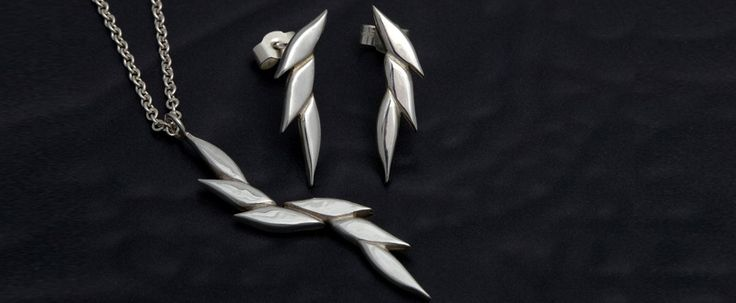 Swoosh 2 earrings and necklace From £48