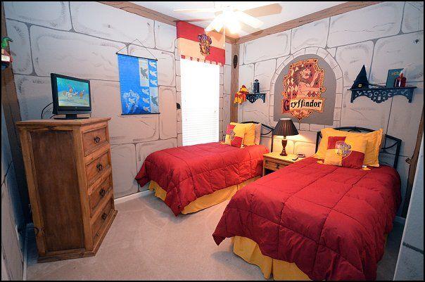 Schlafzimmer Harry Potter Zimmer Einrichten