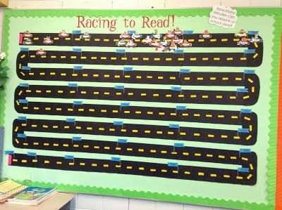 Mrs. Pope's Peeps: Incentive to Read! Picture from my blog. I love this bulletin board that I made :)