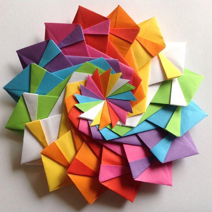 star festival 16 unit origami modular star - Google Search ... - photo#49