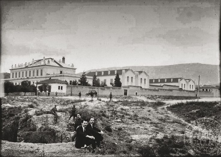 Το Νοσοκομείο Συγγρού το 1922 © Κέντρο Μικρασιατικού Πολιτισμού Καισαριανής