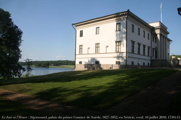 Stjernsund Slott, 1799, palais du prince Gustave de Suède, 1827-1852…