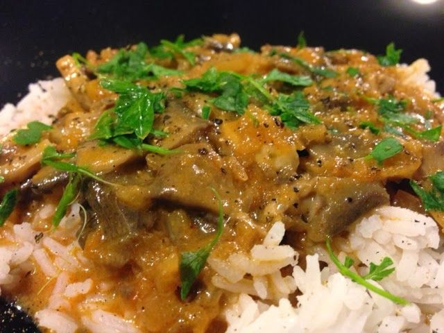 Simply Thermomix Blog: Vegetarian Stroganoff in the Thermomix