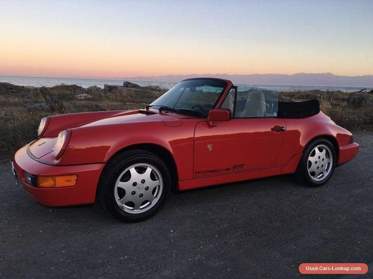 Porsche: 911 Carrera 2 Cabriolet #porsche #911 #forsale #canada