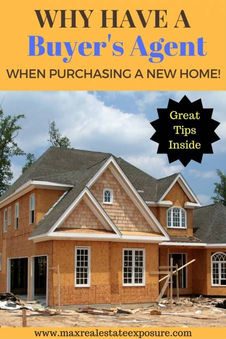 Why have a buyer's agent when purchasing new construction? See why having a buyer's agent is vital when buying a new home. http://www.maxrealestateexposure.com/buyers-agent-new-construction/
