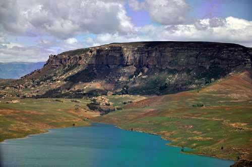 A small part of the huge Sterkfontein Dam. It stretches for kilometers and kilometers. (Photo: Anita Cruywagen Photography)