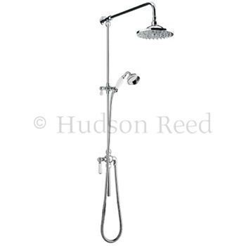 Hudson Reed Grand Rigid Riser Shower Kit with Shower Rose - A3602