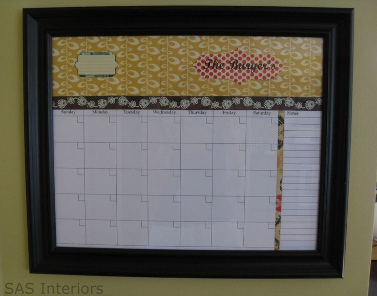 picture frame   blank calendar printout   pretty paper and