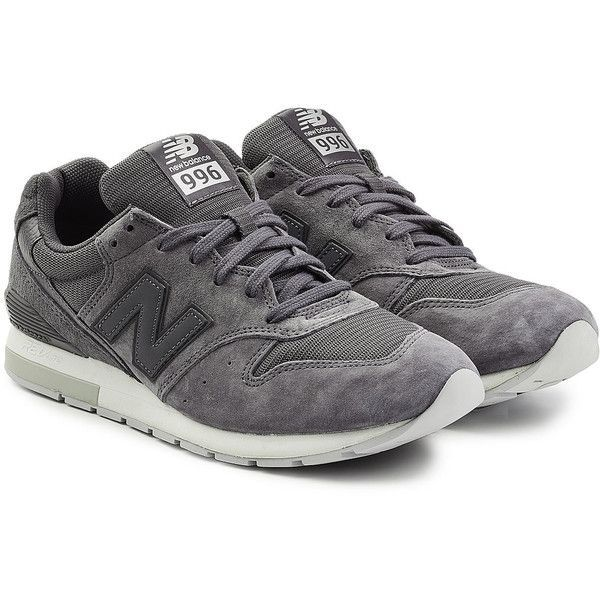 New Balance MRL996 Sneakers ($160) ❤ liked on Polyvore featuring men's fashion, men's shoes, men's sneakers, grey, mens grey shoes, mens grey sneakers, mens gray shoes, new balance mens sneakers and new balance mens shoes