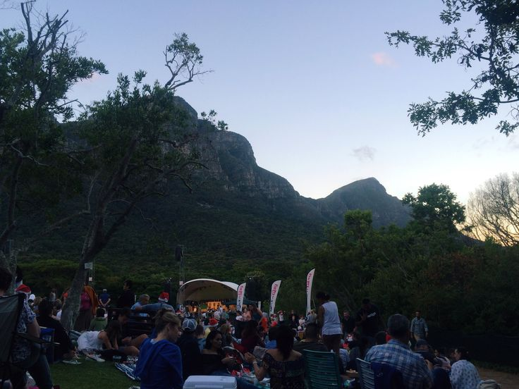 Carols in the park - Kirstenbosch