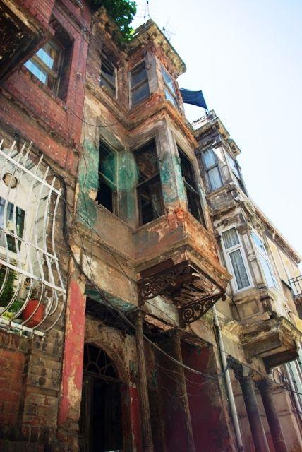 colorful houses of Balat-Fener