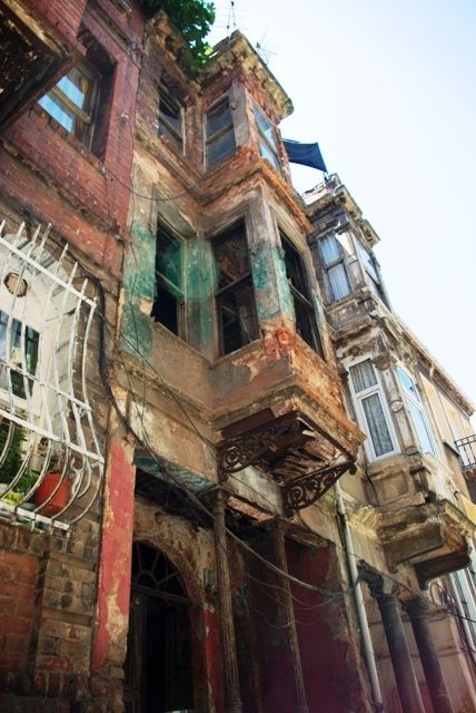 colorful houses of Balat-Fener