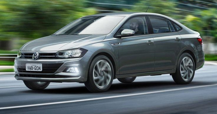 2018 VW Virtus Is A Polo Sedan For South America #Brazil #New_Cars