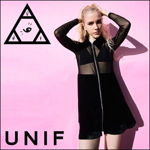 【楽天市場】【送料無料!】UNIF(ユニフ)/INVOKE DRESS ワンピース/ドレス:QOOZA