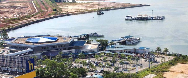 BATAM INTERNATIONAL FERRY TERMINAL Jl. Jalan Engku Putri (Batam Center) Kel. Teluk Tering, Kec. Batam Kota Kota Batam 29461