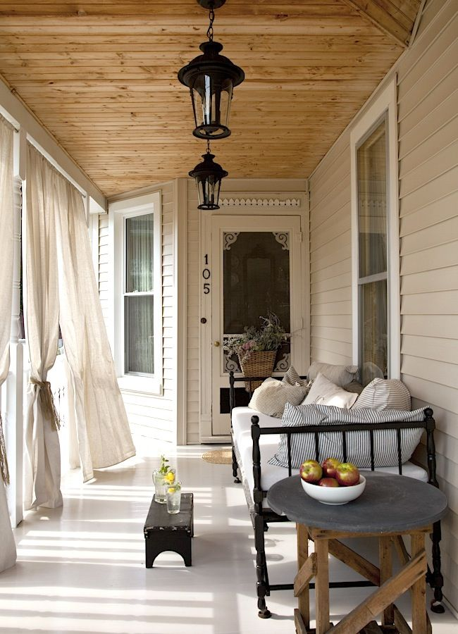 http://www.marklohmanphoto.com Not everyone has an abundance of space to work with or the money in their budget for one of 'those dream' patios and/or decks..but here is another quaint and welcoming porch that IS someones' dream spot to sit a spell.
