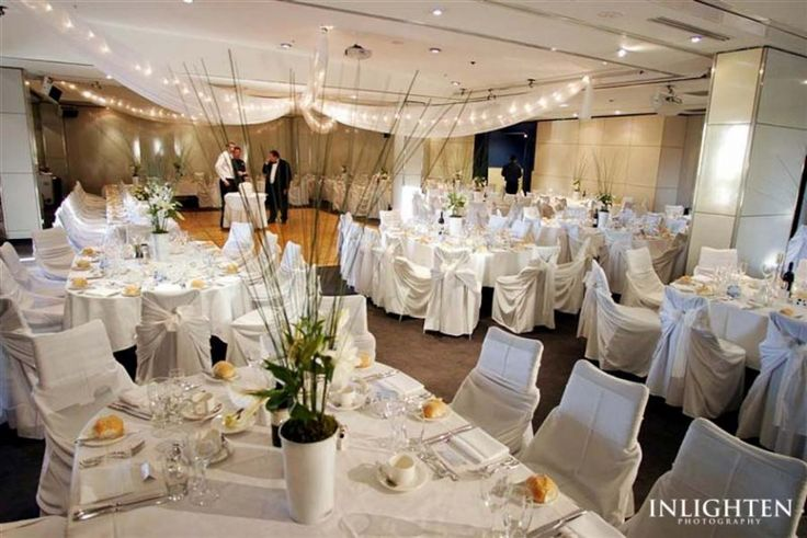 Inlighten Photography Sydney wedding reception. white, elegant, and fun table decoration idea.