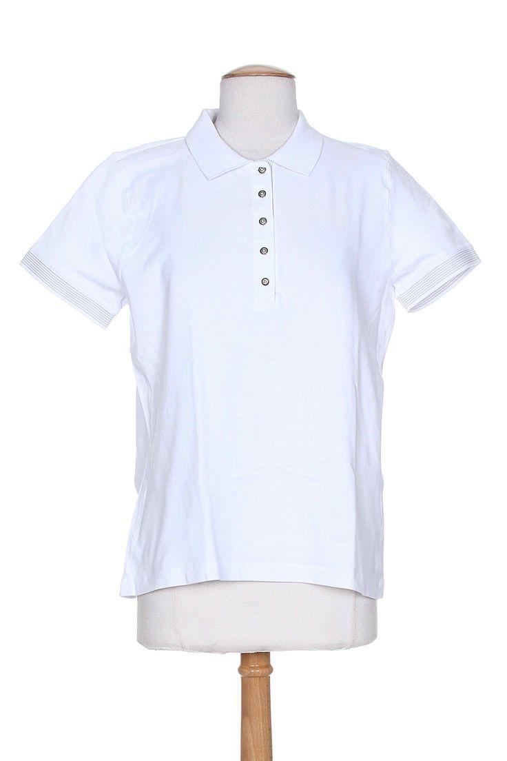 Polo fashion pas cher polo ralph lauren femme france polo de marque - Armor Lux Polos Femme De Couleur Blanc En Soldes Pas Cher 726763 Blanc0 Modz