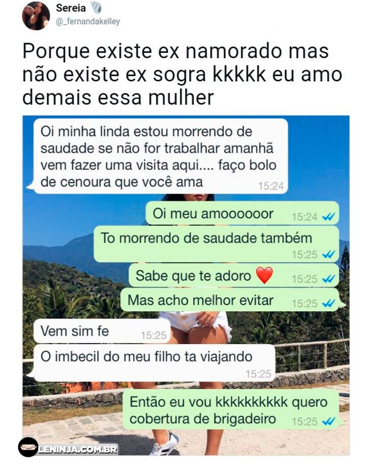 A ex sogra Olha que sacanagem The post A ex sogra appeared first on Le Ninja.
