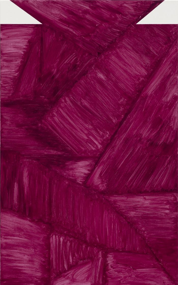 socialclaustrophobia: Robert Holyhead (British, b. 1974), Untitled (Joints), 2014. Oil on canvas, 106.7 × 66 cm. via